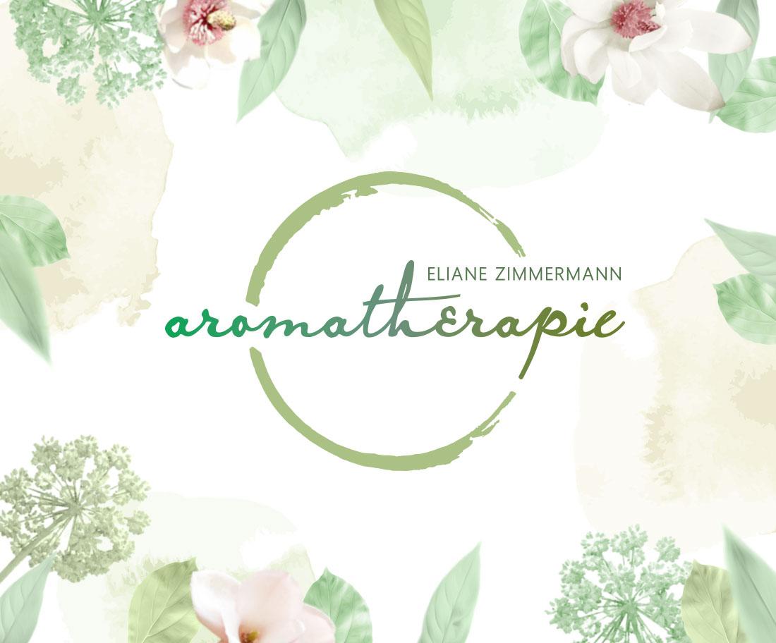 """Logo & Bildsprache für """"Aromatherapie"""""""