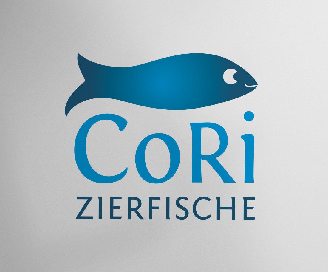 Logo-Entwurf Zierfischhändler